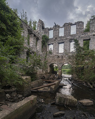 MillRuin (www.vanishingnewengland.com) Tags: mill ruin ruins abandoned history old vanishing new england rhode island decay river industrial