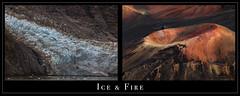 Ice & Fire (Ramen Saha) Tags: gilmanglacier kamoali'i cindercone glacierbaynationalpark haleakalanationalpark haleakala glacierbay glacier ice alaska hawaiʻi silversword ahinahina nationalpark ramensaha