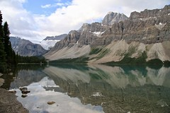 Canada - Bow Lake (Jarco Hage) Tags: canada outside natuur nature byjarcohage wildlife camper road wild rocks moutain animals bow lake water berg bergen