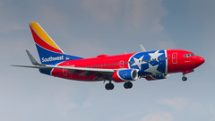 N922WN (gankp) Tags: ronaldreagannationalairport dca arrivals n922wn southwest tennesseeonelivery boeing7377h4