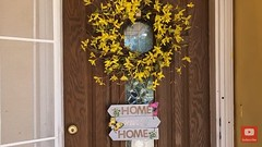 DIY Front Porch | DIY Door Sign (momstuffcoffeeshop) Tags: mom stuff moms momsday diy door sign home front porch parenting tips tricks advice blogger youtube decor shopping dollar tree