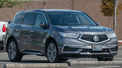 2017 Acura MDX (mlokren) Tags: 2019 car spotting photo photography photos pic picture pics pictures pacific northwest pnw pacnw oregon usa vehicle vehicles vehicular automobile automobiles automotive transportation outdoor outdoors suv cuv crossover 2017 acura mdx gray