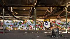 Twpalf (ostplp) Tags: exploration vintage ancien abandon abandonné électricité usine industriel industrie friche oublié forgotten decay urbex acierie steel mill graff graffiti tag