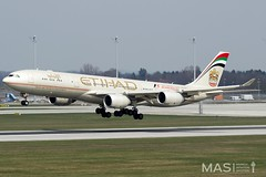 Etihad Airways A340-500 A6-EHB @ MUC (MASAviation) Tags: etihad airbus aircraft airport airplane airbuslovers a340 aviation avgeek avion aviator aviationpic aviationphotography avporn aviationdaily munich muc munichairport mucairport mucmoments