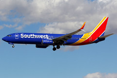 Southwest Airlines | Boeing 737-800 | N8518R | Las Vegas McCarran (Dennis HKG) Tags: aircraft airplane airport plane planespotting canon 7d 100400 lasvegas mccarran klas las southwest southwestairlines swa wn boeing 737 737800 boeing737 boeing737800 n8518r