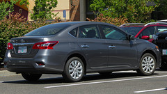 2019 Nissan Sentra (mlokren) Tags: 2019 car spotting photo photography photos pic picture pics pictures pacific northwest pnw pacnw oregon usa vehicle vehicles vehicular automobile automobiles automotive transportation outdoor outdoors nissan sentra gray sedan