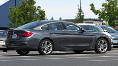 2018 BMW 430xi Gran Coupe (mlokren) Tags: 2019 car spotting photo photography photos pic picture pics pictures pacific northwest pnw pacnw oregon usa vehicle vehicles vehicular automobile automobiles automotive transportation outdoor outdoors 2018 bmw 430xi 4series gran coupe gray hatch hatchback