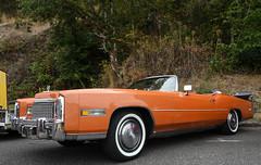 1975 Cadillac El Dorado (faasdant) Tags: untouchable car show kalama washington wa usa 2019 1975 cadillac el dorado convertible orange