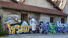 6Zat Crew (ostplp) Tags: exploration vintage ancien abandon abandonné électricité usine industriel industrie friche oublié forgotten decay urbex acierie steel mill graff graffiti tag