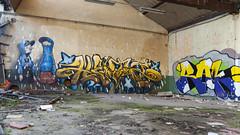 T. (ostplp) Tags: exploration vintage ancien abandon abandonné électricité usine industriel industrie friche oublié forgotten decay urbex acierie steel mill graff graffiti tag