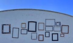 Framed (remiklitsch) Tags: santamonica iphone city urban urbanart remiklitsch frames