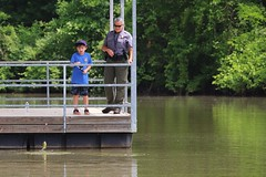 PAL Family Fishing Event (ParksStaff) Tags: park family blue red lake fish color green water fun happy fishing pond colorful ranger stlouis police pole together enjoy rod hook saintlouis lawenforcement reel protected parkranger suson splendor saintlouiscounty stlouiscountyparks stlouiscountypolice saintlouiscountyparks saintlouiscountypark susoncountypark conservationagent nature sport relax outdoors bass group hobby catfish bluegill fishingevent fishingsport