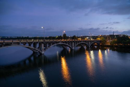 Lamar St Bridge - Downtown Austin