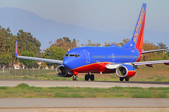 Southwest B737-7BD (N7747C) @KLGB (jebzphoto) Tags: southwest boeing 737 long beach klgb lgb plane planes aircraft airplane airplanes aviation planespotting airport airports airline airlines commercial