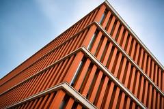 Ritournelle (CrËOS Photographie) Tags: lille france architecture minimalisme lignes minimalism lines orange abstrait abstract