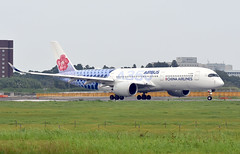 China Airlines, B-18918, Airbus A350-941XWB at NRT (tokyo70) Tags: japan travel tour chinaairlines a350