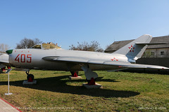 MiG-17 PF (srkirad) Tags: aircraft airplane jet fighter military mikoyan gurevich mig mig17 aviationmuseum aviation museum reptar szolnok hungary russian hungarian nmf