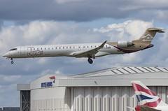 5A-LAM / Bombardier CRJ-900LR / 15257 / Libyan Airlines (A.J. Carroll (Thanks for 1 million views!)) Tags: 5alam bombardier crj900lr crj900 crj cr9 cf348c5 libyanairlines mrbk 018073 london heathrow lhr egll 27l
