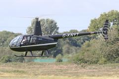 G-KNYT - 2000 build Robinson R44 Astro, crossing the active inbound to Barton (egcc) Tags: 0723 astro barton brostersenvironmental cityairport egcb gknyt helicopter lightroom manchester r44 robinson