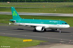 AER LINGUS A320 EI-DVG (Adrian.Kissane) Tags: airline airliner aircraft airbus aeroplane jet plane aviation germany irish taxiway airport departing taxing outdoors 1352017 3318 a320 eidvg dusseldorf aerlingus
