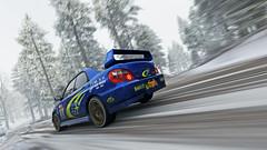 2004 impreza 15 (Keischa-Assili) Tags: 2004 subaru impreza wrx sti blue rally car snow forza horizon 4 4k uhd screenshot wallpaper photo