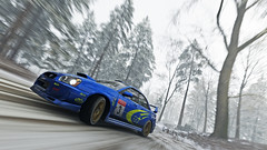 2004 impreza 14 (Keischa-Assili) Tags: 2004 subaru impreza wrx sti blue rally car snow forza horizon 4 4k uhd screenshot wallpaper photo