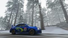2004 impreza 12 (Keischa-Assili) Tags: 2004 subaru impreza wrx sti blue rally car snow forza horizon 4 4k uhd screenshot wallpaper photo