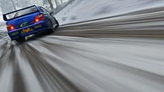 2004 impreza 11 (Keischa-Assili) Tags: 2004 subaru impreza wrx sti blue rally car snow forza horizon 4 4k uhd screenshot wallpaper photo