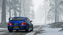 2004 impreza 10 (Keischa-Assili) Tags: 2004 subaru impreza wrx sti blue rally car snow forza horizon 4 4k uhd screenshot wallpaper photo