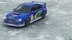 2004 impreza 9 (Keischa-Assili) Tags: 2004 subaru impreza wrx sti blue rally car snow forza horizon 4 4k uhd screenshot wallpaper photo