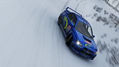 2004 impreza 7 (Keischa-Assili) Tags: 2004 subaru impreza wrx sti blue rally car snow forza horizon 4 4k uhd screenshot wallpaper photo