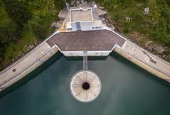 Barrage de l'Hongrin (Olivier Rapin) Tags: châteaudœx cantondevaud suisse barrage lhongrin vaud switzerland dam drone air mavic dji romandie lac see lake montagne montain explore