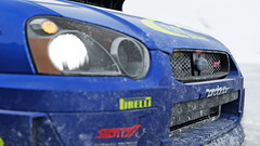 2004 impreza 3 (Keischa-Assili) Tags: 2004 subaru impreza wrx sti blue rally car snow forza horizon 4 4k uhd screenshot wallpaper photo
