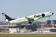 flair_737_c-ffla_yyc (Lensescape) Tags: yyc 2019 boeing flairair flair b737 737800 b737800 737 cffla