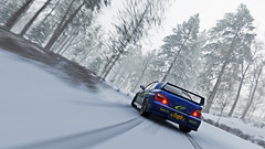 2004 impreza 8 (Keischa-Assili) Tags: 2004 subaru impreza wrx sti blue rally car snow forza horizon 4 4k uhd screenshot wallpaper photo