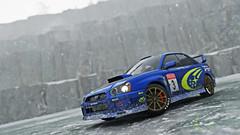 2004 impreza 5 (Keischa-Assili) Tags: 2004 subaru impreza wrx sti blue rally car snow forza horizon 4 4k uhd screenshot wallpaper photo