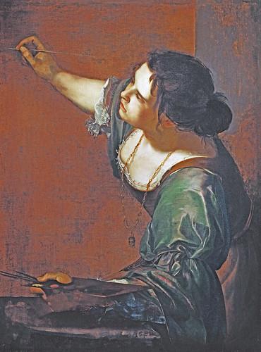 Artemisia Gentileschi Self-portrait as the Allegory of