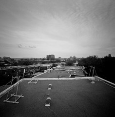 Roof top pinhole Montreal (johann schlager) Tags: pinhole zero image 2000 montreal