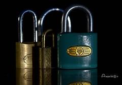 Closed (Anavicor) Tags: macro closed cerrado candado padlock vorhängeschloss cadenas focus anavicor anavillar villarcorreroana nikon tamron90mm