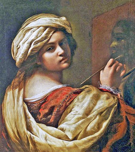 Artemisia Gentileschi - Self-Portrait as an Allegory of