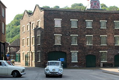Tatra 87 passing the Great Warehouse (Davydutchy) Tags: truk annual rally tatra register uk ironbridge coalbrookdale shropshire england greatbritain gorge museum museumofironanddarbyfurnace iron darby furnace t87 87 great warehouse august 2019