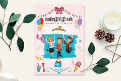 Congratulation greeting card (Graphica Origin) Tags: card greeting greetingcard