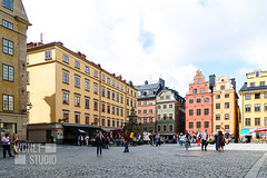 Stortorget Square in Stockholm (WDnet) Tags: tourists panorama summer color tourist district picturesque scenic people attraction symbol traditional market centre sightseeing medieval facade european history historic downtown destination stan gamla street urban historical nordic cityscape famous colorful capital scandinavia stortorget scandinavian tourism landmark house swedish building europe architecture old town travel city stockholm square sweden editorial d750 ngc