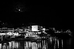 Full moon (Valantis Antoniades) Tags: chalkidiki halkidiki greece neos marmaras black white monochrome night full moon hellas reflections μακεδονια macedoniagreece macedoniatimeless makedonia macedonian macédoine mazedonien македонијамакедонскимакедонци
