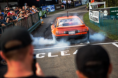 Retro Rides 2019 (Josh Holmes Photography) Tags: worcester england unitedkingdom shelsleywalsh cars motorsport hillcimb car motor engine burnout racing race worcestershire canon 1dx 1dxmkii joshholmes 2019 rubber smoke drift driftworks welded diff differential slide tyresmoke tyre rev 2470mm f28 lseries pro dof wideopen sharp fast people crowd