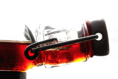 Have A Drink On Me (sdupimages) Tags: contrejour backlight macro bottle fermée closed bouteille boisson drink macromondays