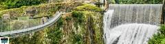 Chute et passerelle-Panorama (https://pays-basque-et-bearn.pagexl.com/) Tags: aquitaine colinebuch paysbasque pyrénéesatlantiques sainteengrâce barrage cascade chute eau lasoule nature pyrénées sudouest