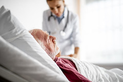 What Illnesses Result in Hospital Readmissions Most Often? (hcacoralgables) Tags: patient hospital room medicine old man clinic treatment healthcare bed mature health clinical pillow profile cure elderly ward sterile sick illness therapy medical white lie male doctor disease recovery aged gentleman caucasian rest person side view portrait rehabilitation people graybeard focus blurred background woman medication indoors senior stethoscope blanket condition ukraine homecare seniorcare eldercare respitecare