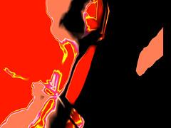 flaming black (j.p.yef) Tags: peterfey jpyef yef abstract abstrakt black red yellow