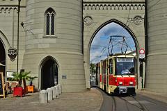 Tatra KT4D #001 Prototyp ViP Potsdam Poczdam (3x105Na) Tags: tatra kt4d 001 prototyp vip potsdam poczdam tram tramwaj strassenbahn strasenbahn przejazdspecjalny przejazd sonderfahrt deutschland germany niemcy